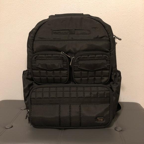 Lug Handbags - Lug Quilted Puddle Jumper Backpack 98d586e351d96